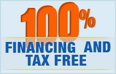 100% Financing And Tax Free