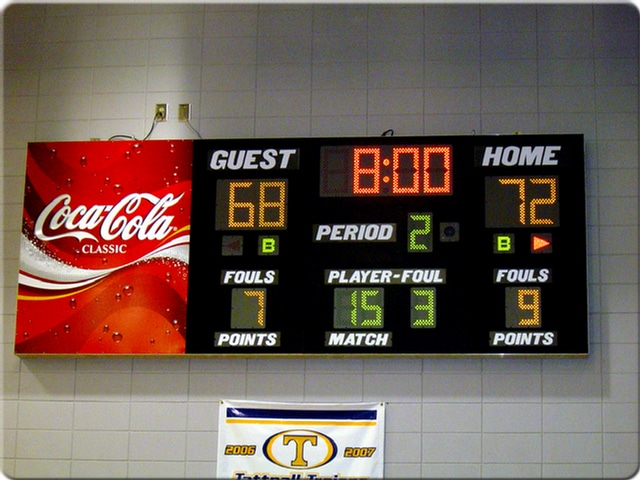 Scoreboards and Video Displays